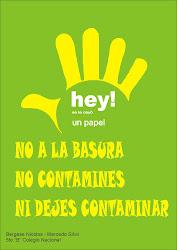 Mi afiche de contaminacion