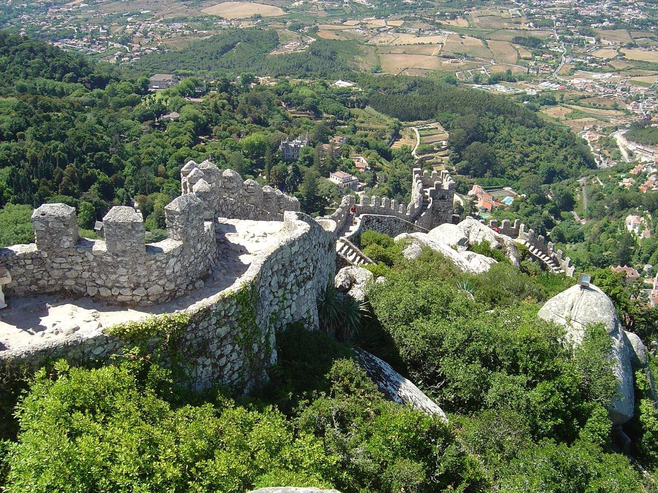 Moorish Castle, at Sintra