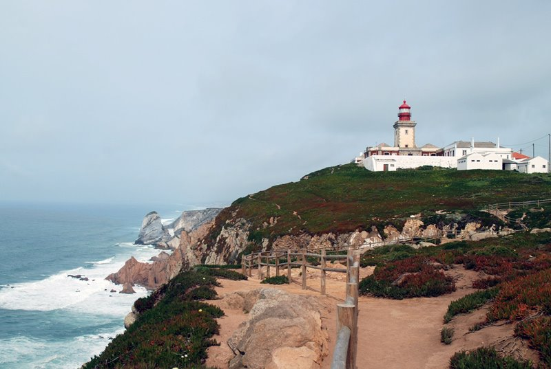 Cabo da Roca, near Sintra is the westermost point of European Continent