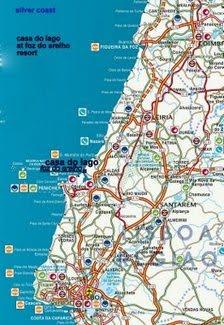 silver coast map