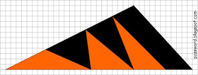 Оранжево-черный треугольник