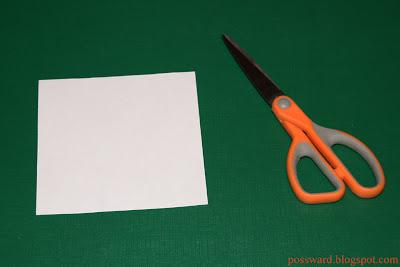 головоломка из бумаги 1