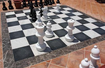 Пляжные шахматы