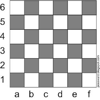 Шахматная доска 6x6