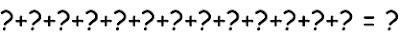 Сумма 13 чисел
