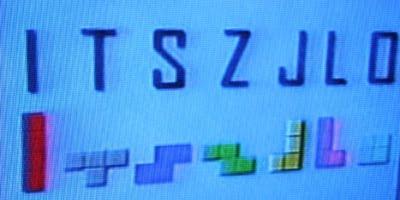 Условные обозначения элементов тетриса