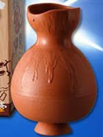 Пластиковая ваза