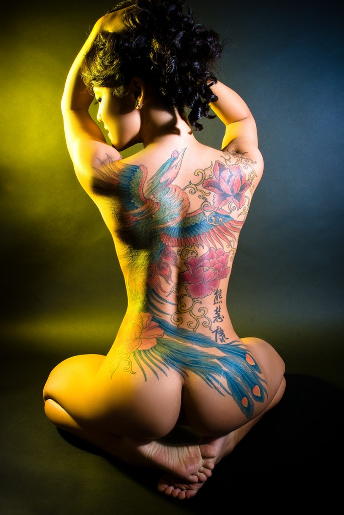 tattoo on girls. hottest tattoos for girls.