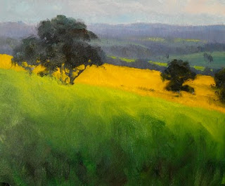painting in oil australian landscape step by step andy dolphin
