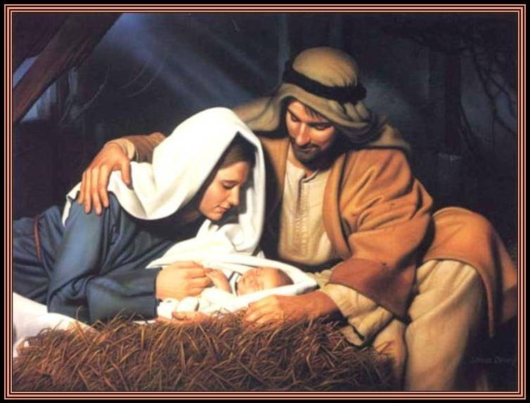 la navidad en la iglesia: