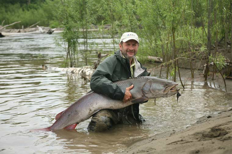 Flyfishing russia june 2010 for Russian river fishing