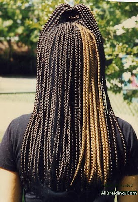 Crochet Individual Braids : Posted by JoySmile Coiffure at 8:04 AM