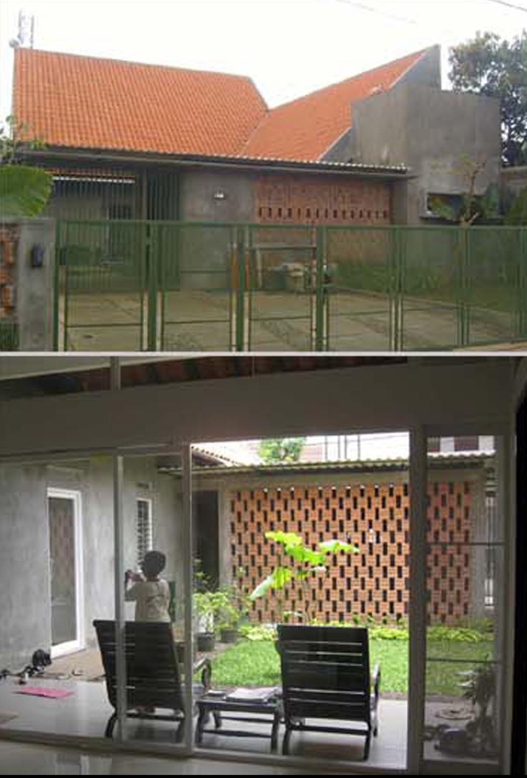 Ide Desain Void Belakang Rumah