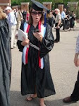 at graduation...