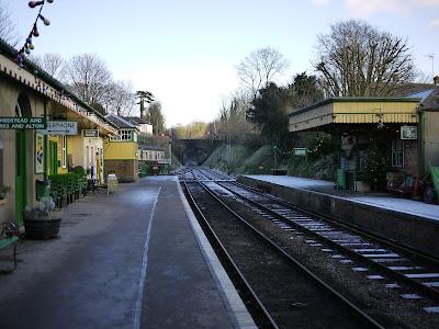 Alresford Station Car Park