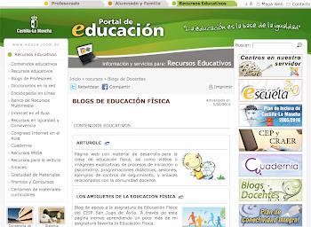 Blogs de E.F. de la página de educación de la JCCM