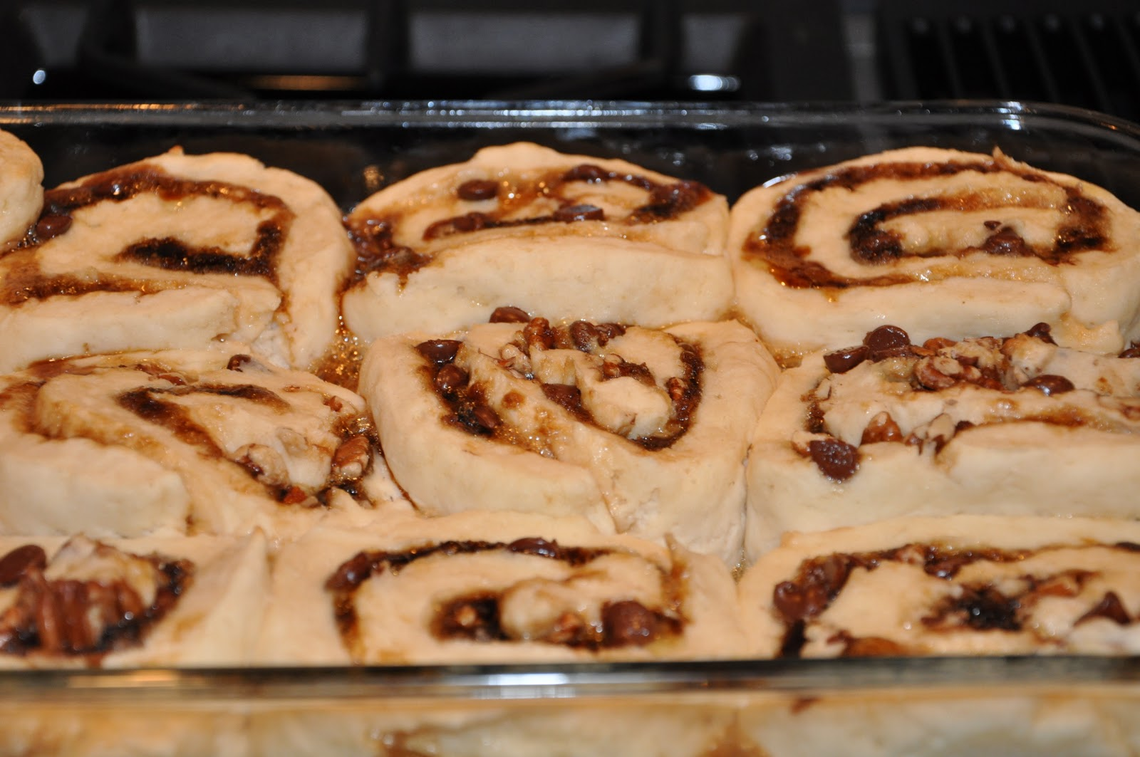 Gluten Free in the 713: Recipes: Chocolate Chip Cookie Sweet Rolls