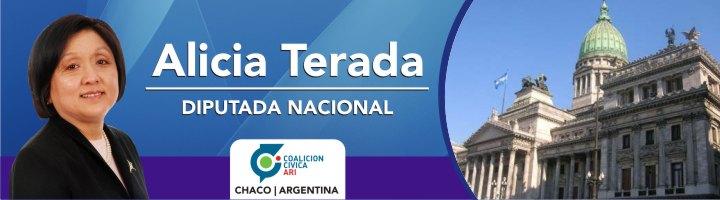 Alicia Terada - Diputada Nacional ARI - Chaco - Argentina