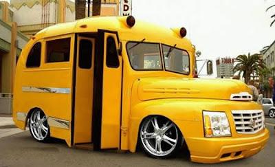 Low rider school bus