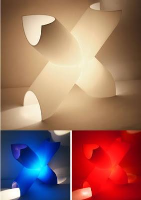 """X"" Lamp"
