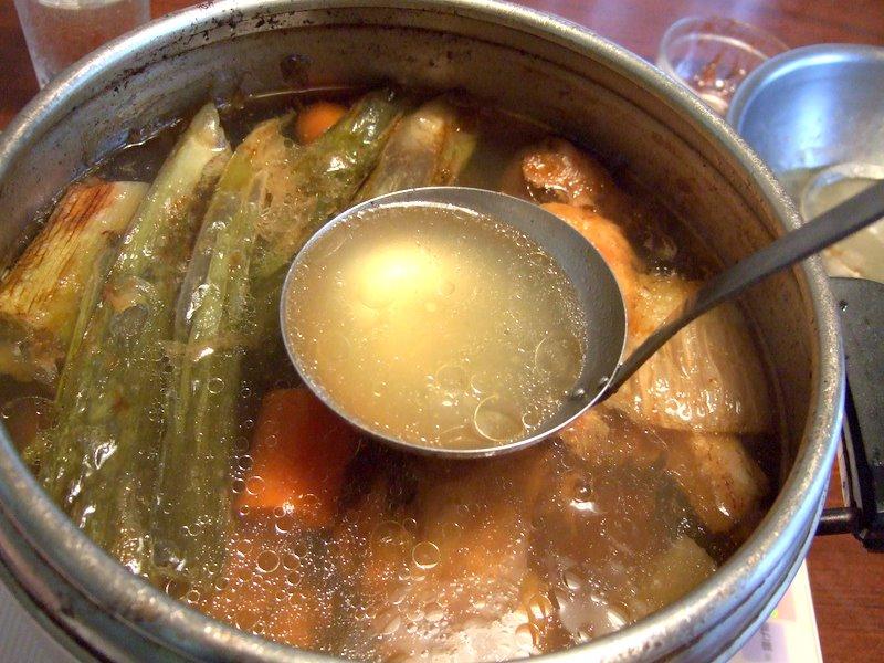 Le canard du m kong soupe de canard laqu - Bouillon d os ...