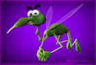 mosquito asustado