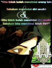 CINTA ADALAH UNTUK ALLAH