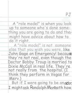 My role model essay