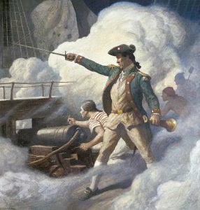 Captain John Paul Jones by Newell Convers Wyeth