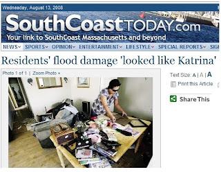 Yeah, Katrina's office, maybe