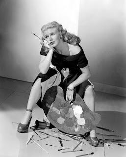 Weary Artist Ginger Rogers is weary.