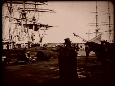 William Walcott and NB Waterfront in ''Down to the Sea in Ships.''(1922)