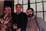 Con Ángeles Martín y Antonio Gala