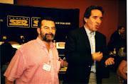 Junto a Iñaki Gabilondo en un Taller de Radio