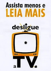 Desligue a TV, leia um blog