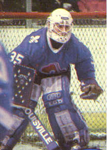 Patrick Roy's childhood idol