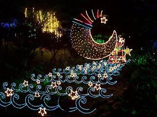 Alumbrados de Medellin en navidad