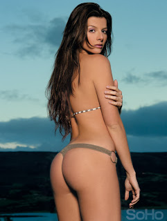 modelo y presentadora Carolina Cruz Osorio en Soho