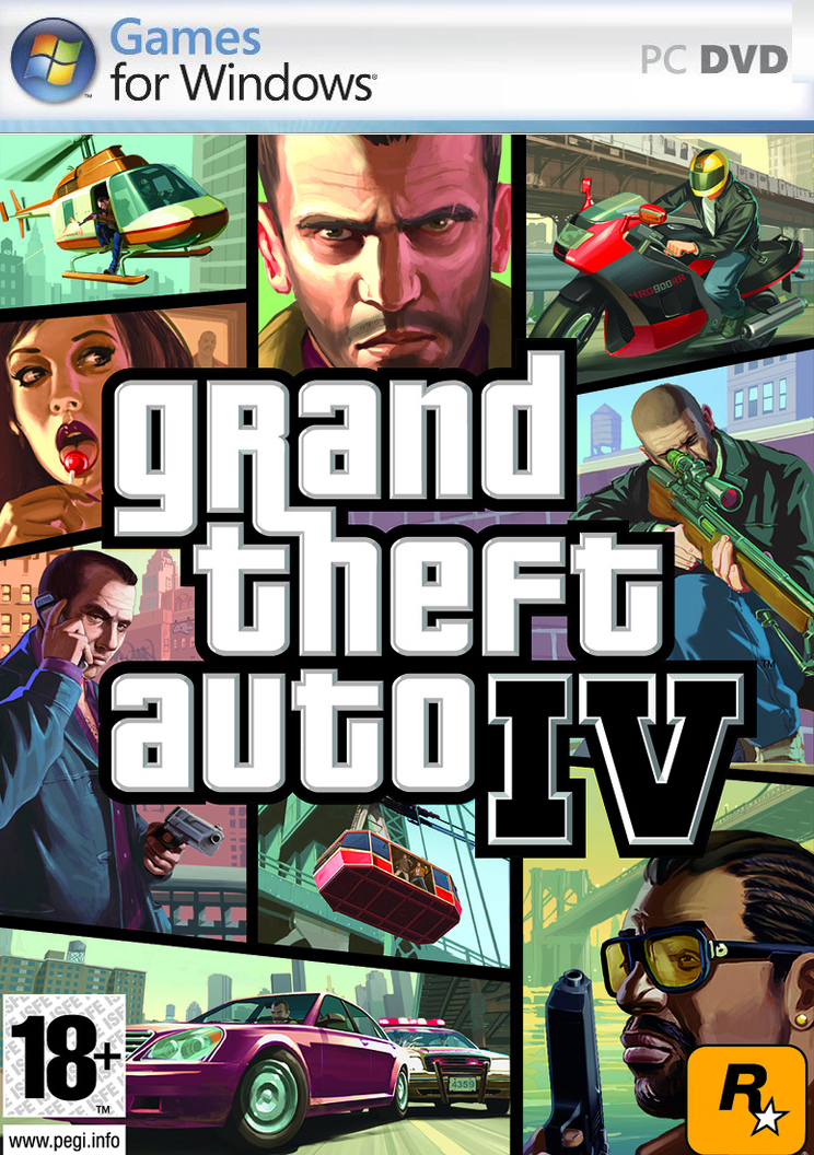 Grand Theft Auto IV 4