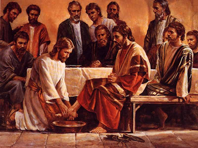 about the story of Jesus washing the dirty feet of His disciples (John