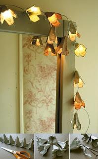 Lámparas en forma de flores 3