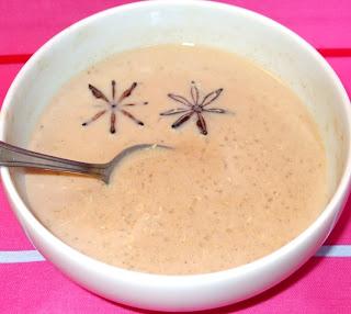 quinoa, latte, anice stellato e gofio