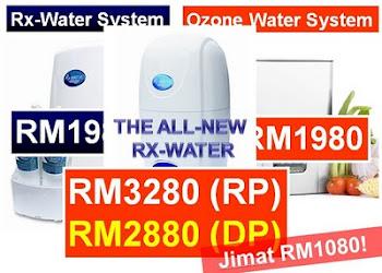 RX <strong>Water - Terapi Air Penyembuh Aura No 1 Terhebat..</strong>