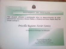 Meu certificado de professora destaque da minha escola