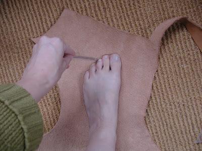 HOWTO make Viking shoes