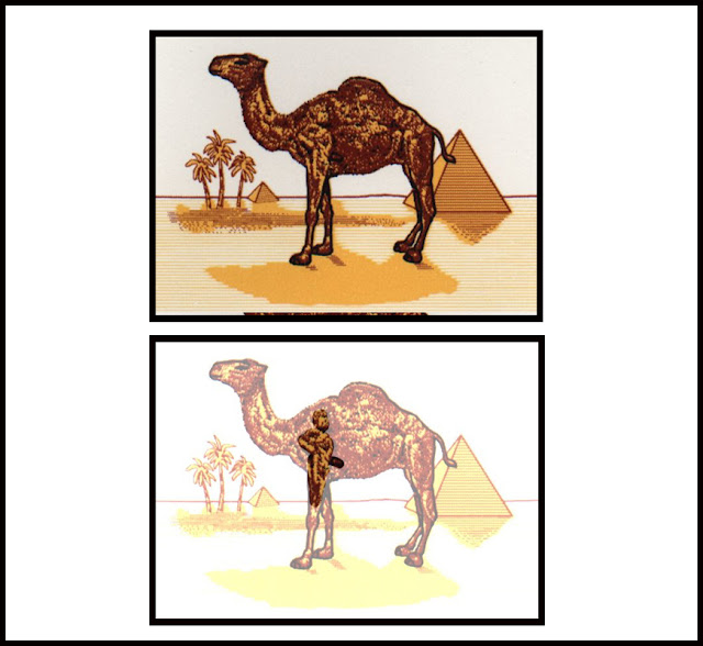 Subliminal advertising camel