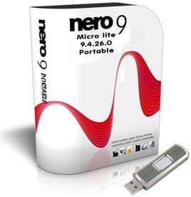 Nero Burning ROM 9 Portable compativel com Win7  Portable Nero Burning ROM 9.4.26.0 Win7Compatable Nero 9 é a nova geração do mundo o mais confiável integrada mídia digital e entretenimento doméstico.