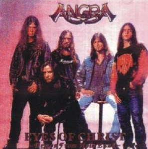 Angra:Eyes of Christ (1995) 01 - Nothing to say 02 - Silence and distance 03 - Z.I.T.O 04 - Holy land 05 - Make believe 06 - Eyes of christ 07 - Carolina IV 08 - Deep blue 09 - Live And Learn 10 - The Shaman 11 - Freedom Call 12 - Spell 13 - Lullaby For Lucifer