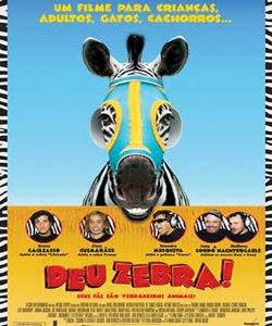 Deu Zebra! Listrado (voz de Frankie Muniz na versão original; Bruno Gagliasso na versão nacional) é uma zebra separada dos pais que cresce achando que é um cavalo de corrida.