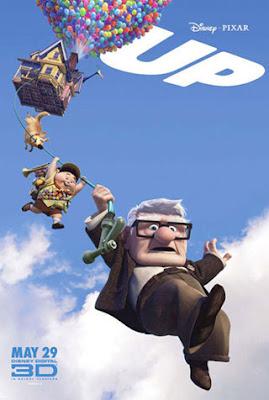 UP - Altas Aventuras Carl Fredricksen (Edward Asner) é um vendedor de balões que, aos 78 anos, realiza o sonho de sua vida ao pendurar milhares de balões em sua casa.